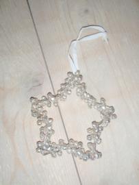 Ster van belletjes (zilver)