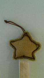 Suede ster (klein)