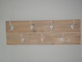 Kapstok met 7 haken 1 mtr breed, 40cm hoog