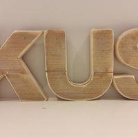 Letters steigerhout