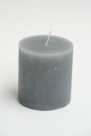 Rustieke kaars licht grijs S