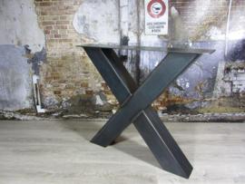 Industrieel tafelonderstel X-poot Zwaar (2 stuks)