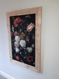 Stilleven met bloemen van Jan Davidsz. de Heem (81x121cm)