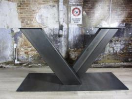 Industrieel tafelonderstel V-poot Zwaar