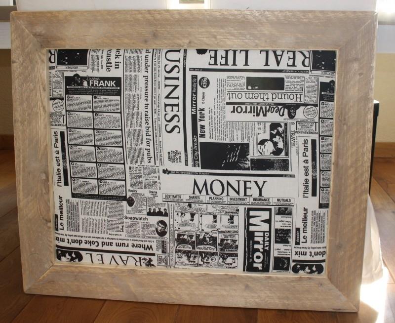 Prikbord 75x90 cm