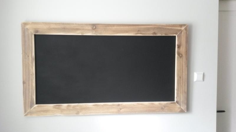 Krijtbord vierkant 50x50cm