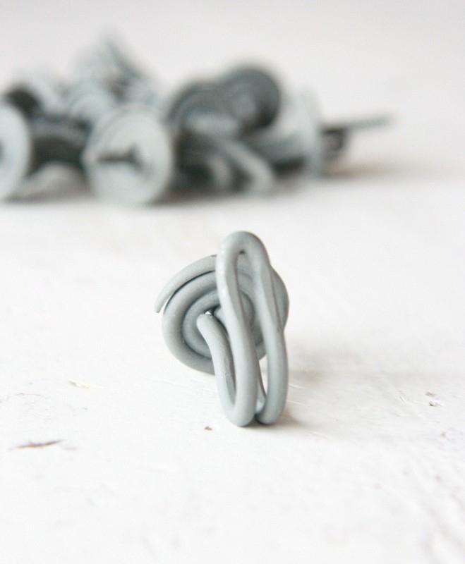 Draadhaakje grijs