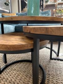 3 delig set tafels