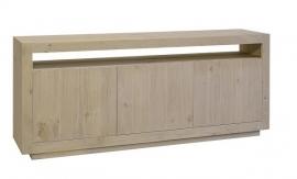 Dressoir Helder  3 deurs 191 cm