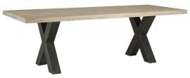Eiken tafel kross 200cm