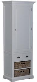 Napoli 1 deurs cabinetkast incl. Manden