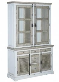 Cabinet Amanda, met 4 deuren en 5 laden 140cm