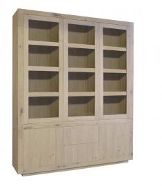 Glaskast Helder 5 deurs 191 cm