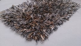 Melange karpet brons