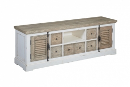 tv meubel Amanda 190cm 2 deuren 6 laden