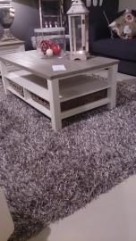 Melange karpet zilver