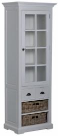 Napoli Cabinet/glaskast 1 deur 2la 4manden
