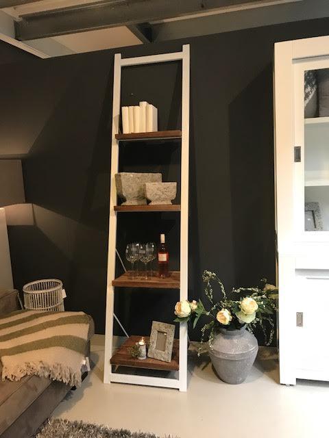 Boekenkast ladder 245 cm