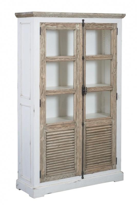 Vitrinekast Amanda, met 2 deur 120cm
