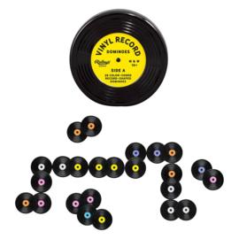 Vinyl record domino