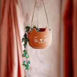 Hangpot kat terracotta