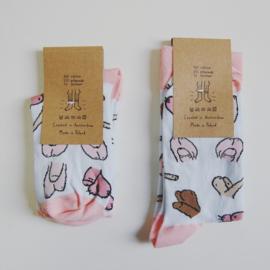 Willy socks (in 2 maten 37-41 en 42-46)