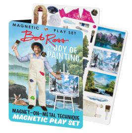 Magnetic play set Bob Ross
