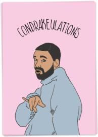 Kaart Blanche 'ConDRAKEulations'