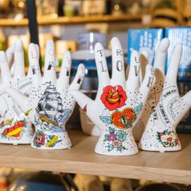 Deco hand  tattoo