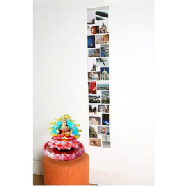 Fotogordijn 24 vakken (164 cm lang)