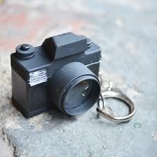 Kikkerland sleutelhanger fototoestel