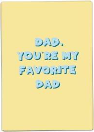 Kaart Blanche 'Favorite dad'