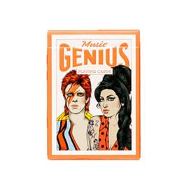 Music Genius Playing Cards/ Speelkaarten