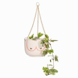 Hanging planter Girl power