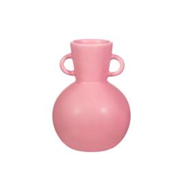 Amphora vase bubblegum pink  S