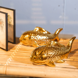 Wall deco gold fish