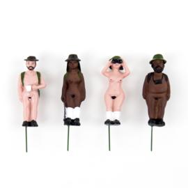 Mini garden naked ramblers