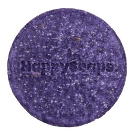 Happy soaps purple rain shampoo bar