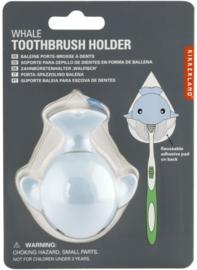 Kikkerland tandenborstelhouder walvis