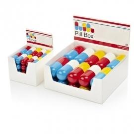 Pill-box aluminium pillendoos klein