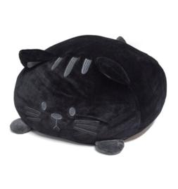 Kussen kat zwart