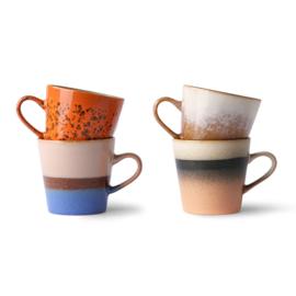 HK living 70's americano mug set (ACE6971)