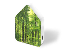 Zwitscherbox relax vogelhuisje bos