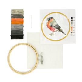 Kikkerland mini crossstich bird