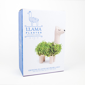 Llama growing planter