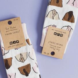 Vulva socks (in 2 maten 37-41 en 42-46)