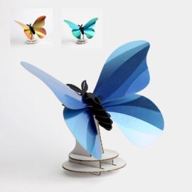 Assembli 3D Birdwing Butterfly (3 kleuren)