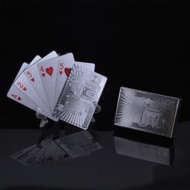 Zilveren kaartspel