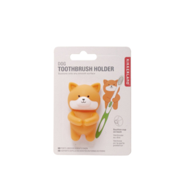 Kikkerland tandenborstelhouder hond