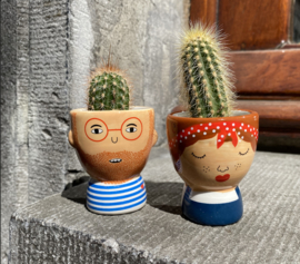 My kind of people eggcups Libby & Ross